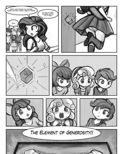 The Cutie Mark Crusaders - The Element O