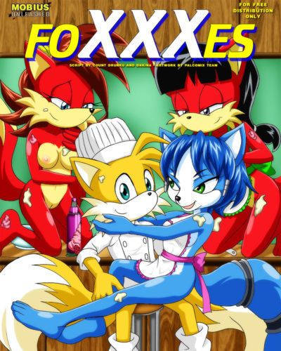 Palcomix FoXXXes (Sonic the Hedgehog- Star Fox)