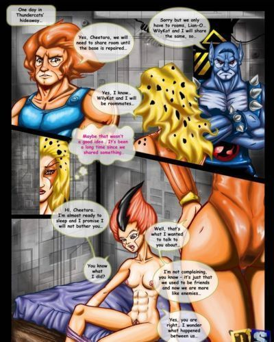 Drawn-Sex Thundercats