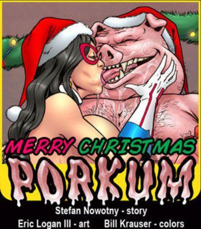 Merry Weihnachten porkum