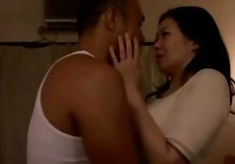 Hot asian milf slut sucking cock - 5 min