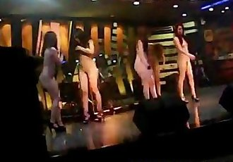 Indonesian Striptease sexy dancers - 6 min
