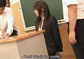 Asian teacher getting fucked by the randy students - 1 min 8 sec