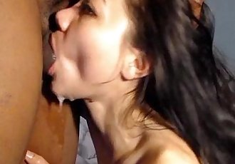 Blowjob from Asian amateur made his toes curl - 10 min HD