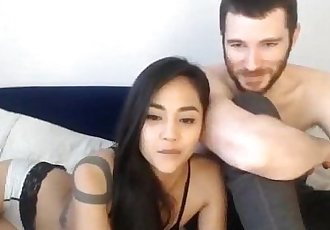 Gorgeous asian having sex with her boyfriend - 1h 0 min
