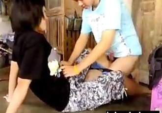 Pretty Short Haired Thai Girl Gets Fucked Video - 8 min