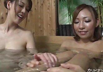 Naked girls bath pool voyeured - 12 min