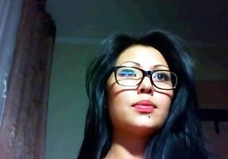 Beautiful asian camgirl show - 15 min