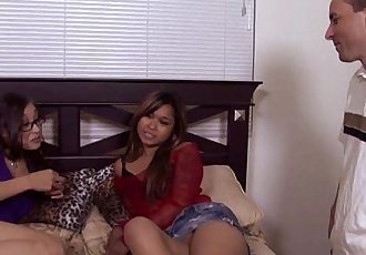 Ariel Rose & Nipsy Doll Get Fucked In Threesome - 6 min HD