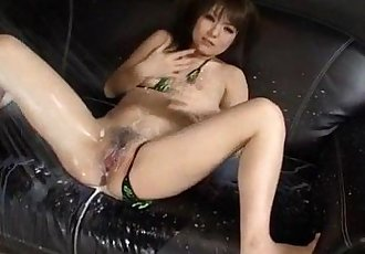 Japanese hardcore along obedient milf Huwari - 10 min