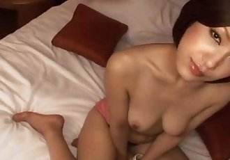 Dashing porn adventure with peachy tits Nene Iino - 10 min