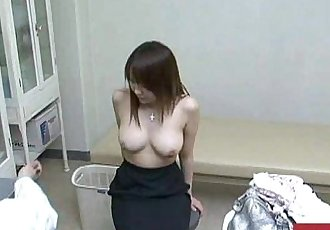 Young innocent woman is used by her perverted gynecologist during a examination - 8 min