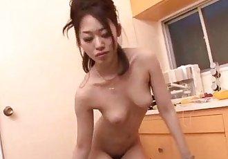 Powerful blowjob on two cocks by Ann Yabuki - 12 min