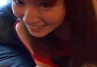 Asian hotte Kao Sugimori nailed hard! - 6 min