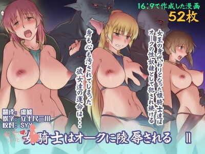 Kinmekki Damashii Sendorikun Onna Kishi wa Orc ni Ryoujoku Sareru II Chinese 胸垫汉化组