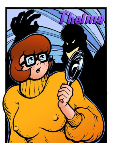 M.J. Bivouac Thelma - Solves the Mystery! (Scooby-Doo) Colored