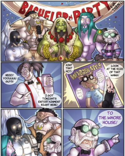 Shia A Warcraftian Bachelor Party (World of Warcraft)