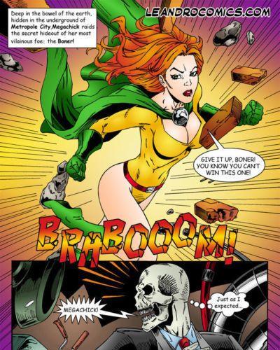 Leandro Comics Megachick