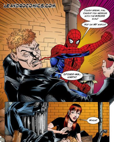 Leandro Comics Spider-Man