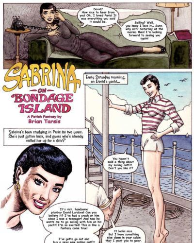 Brian Tarsis Sabrina on Bondage Island