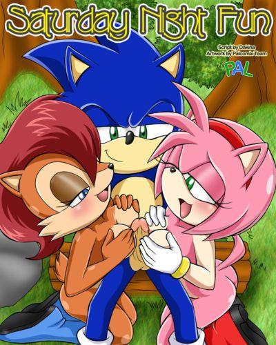 Palcomix (Dakina) Saturday Night Fun 1 (Sonic the Hedgehog)