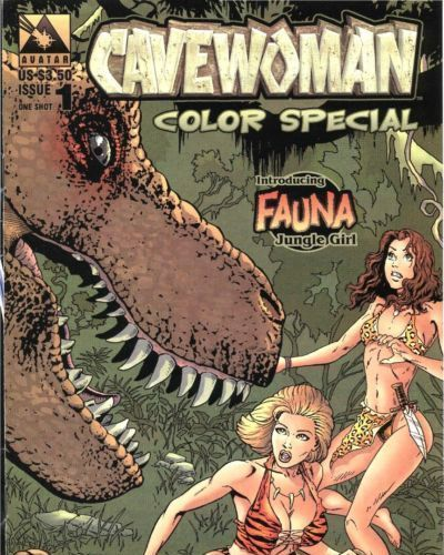 Budd Root- Sean Shaw Cavewoman - Color Special #1