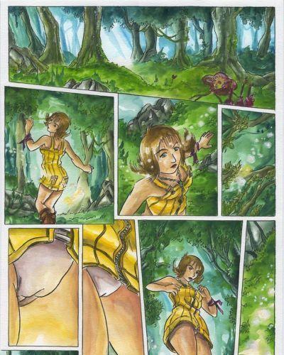 прохождение лес Мечта (final Фантазия VIII вида и x)