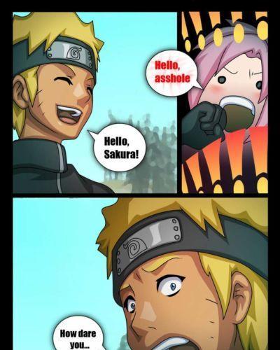 Comic Toons Naruto X Sakura (Naruto)