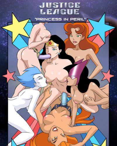 Palcomix Princess in Peril (Justice League)