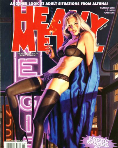 Horacio Altuna Heavy Metal Erotic Special 02