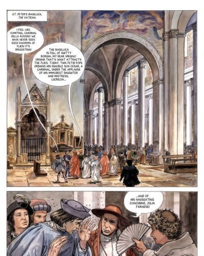 Alejandro Jodorowsky & Milo Manara Borgia #3 - The Flames of the Pyre - part 2