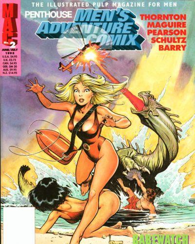 Penthouse Mens Adventure Comix #2