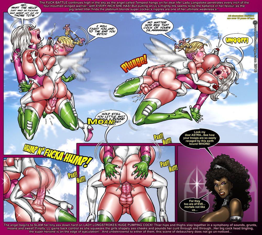 Smudge Lady Longstroke - Angel Pack