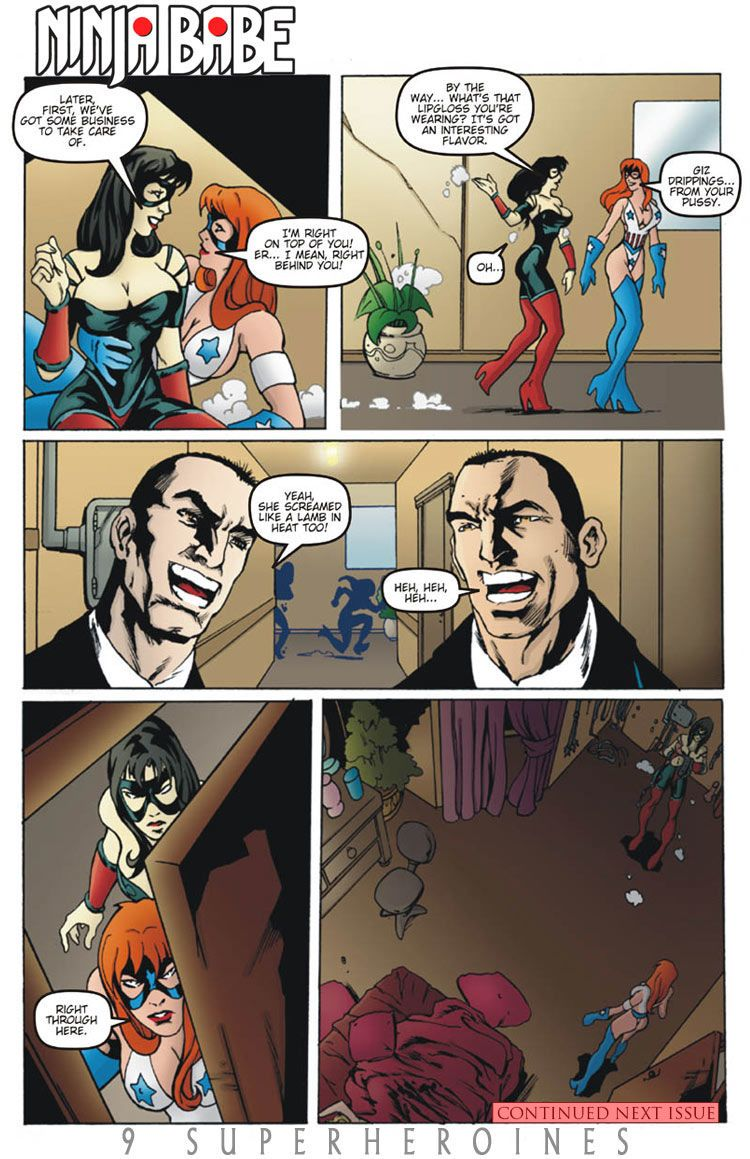 9 Superheroines - The Magazine #11 - part 3
