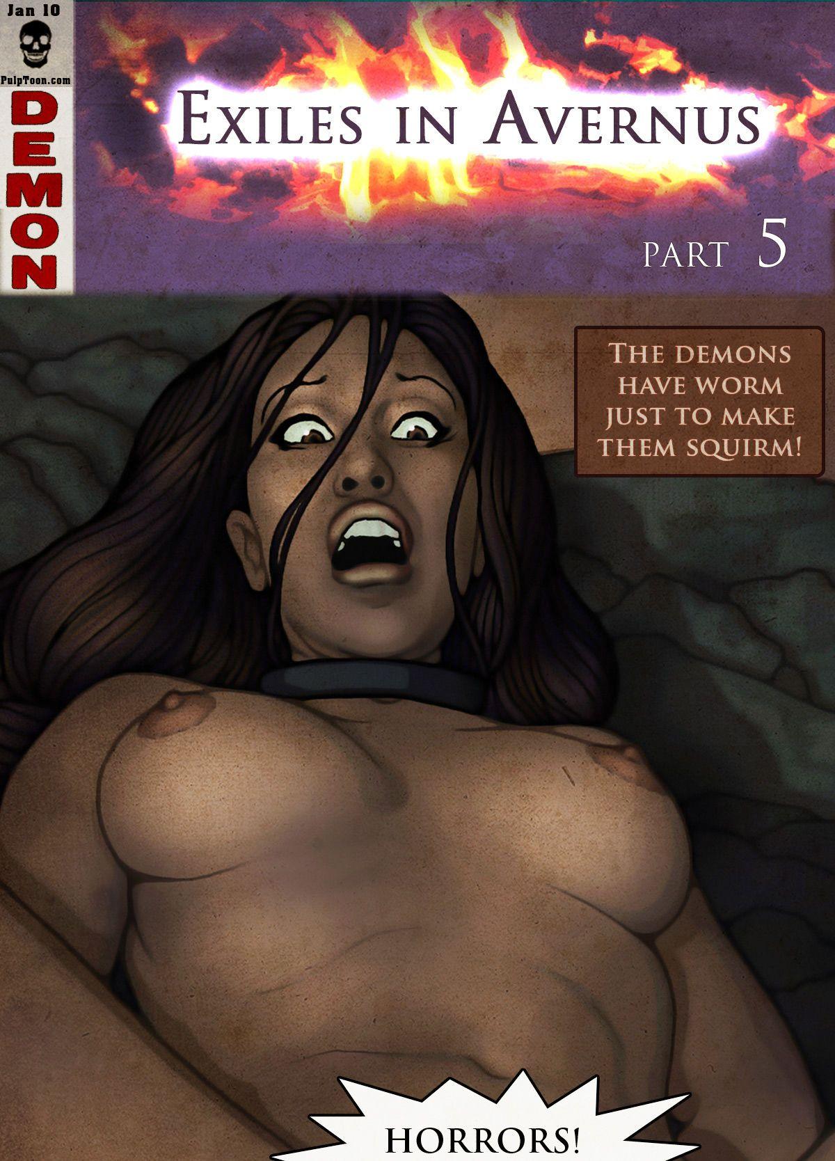 Jeff Fairbourn Exiles in Avernus #4 & #5