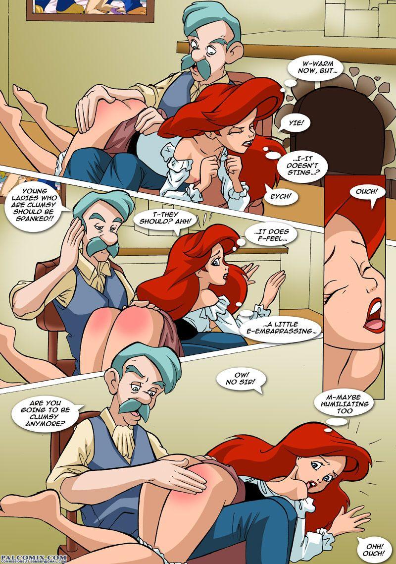 Palcomix Ariel Explores (The Little Mermaid) - part 2