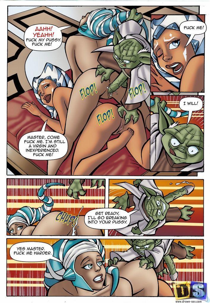 star wars hentai comics № 157727