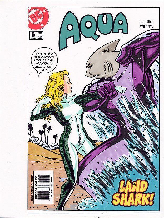 Tebra Artwork - DC Universe