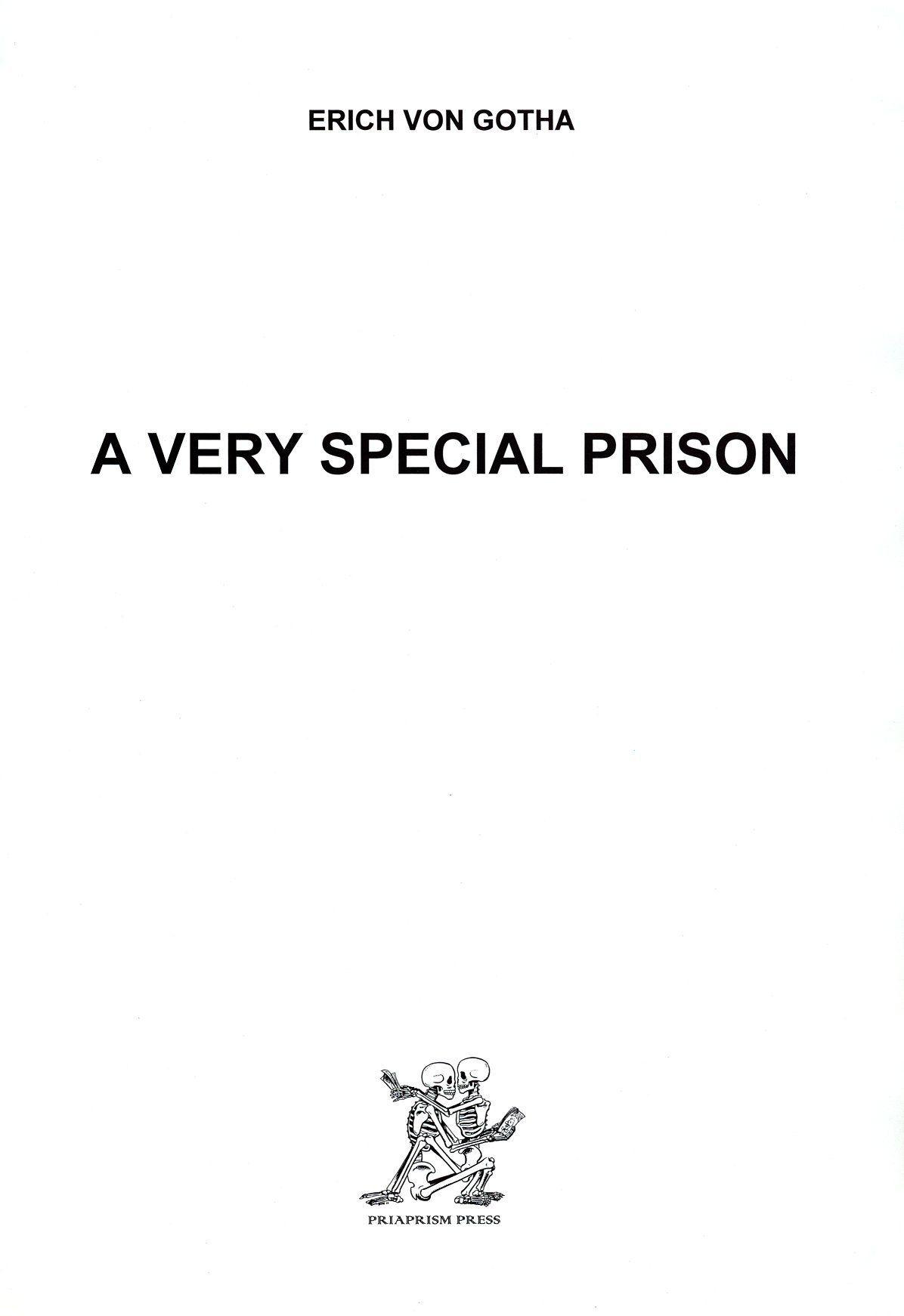 Erich Von Gotha A Very Special Prison