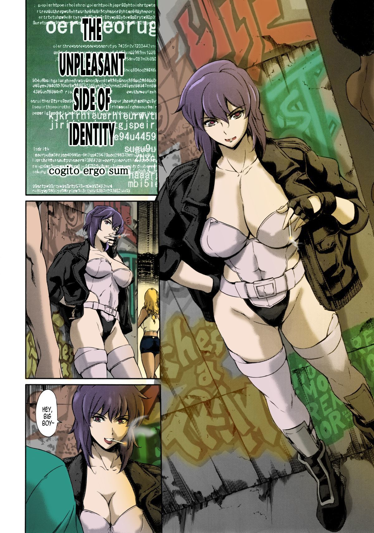 Ghost in the shell hentai pic, horny busty hot girls