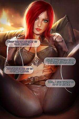 Reward 04 - Mercy- Katarina- Dark Elementalist Lux - part 7