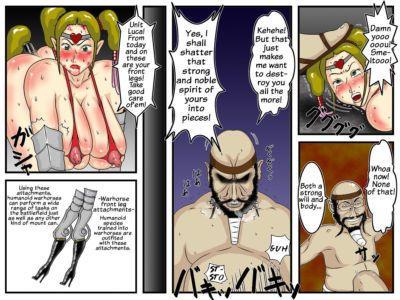 Juushitsu Genyu Zoku Amazoness Gunba Choukyou ~Oukoku Houkai~ Kanzenban - Amazon Warhorse Training the Sequel ~The..