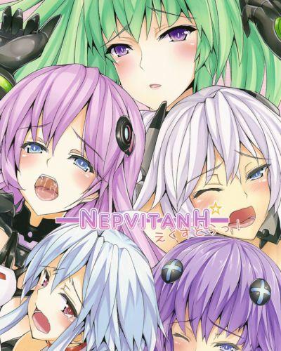 (C83) Yuu Heya (yuu) NepVitanH Extra! (Hyperdimension Neptunia) JMCS