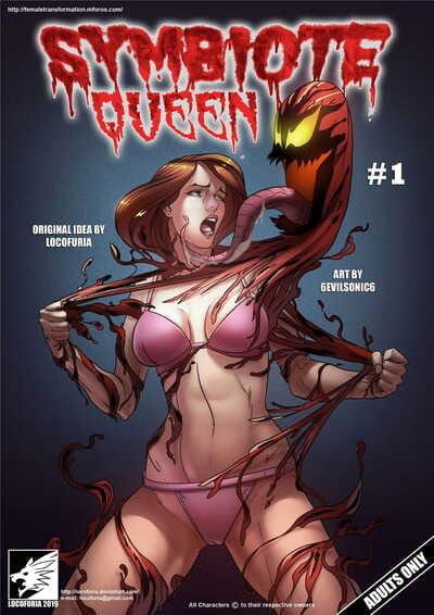 Locofuria Symbiote Queen #1- 6Evilsonic6