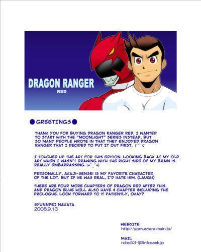 Gamushara! (Nakata Shunpei) Dragon Ranger Aka Hen Joshou, Vol. 1-4 - Dragon Ranger Red Prologue, Chapter 1-4 {Spirit}..