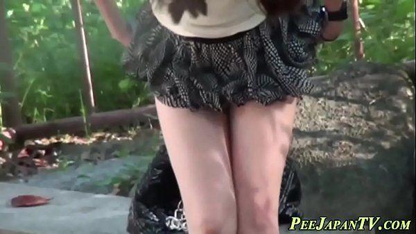 Japanese teen slut pisses