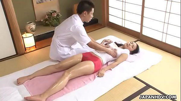 Getting her massage licence means getting fucked by the instructor