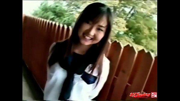 Hairy Pussy Japanese Schoolgirl (Uncensored JAV)