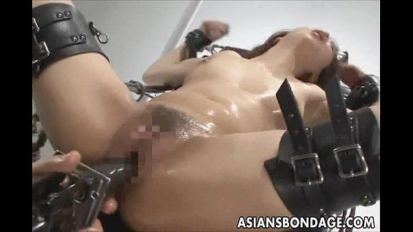 Japanese babe bond and filled
