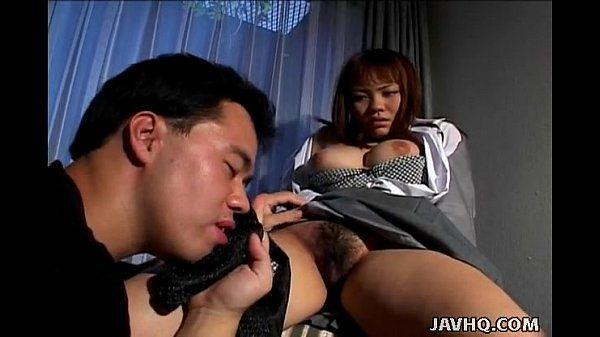 Hot little Asian darling gets teased with lovely sex toys